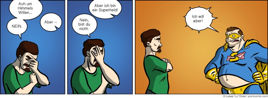 Piece of Me. Ein Webcomic über Superhelden ... oder so.